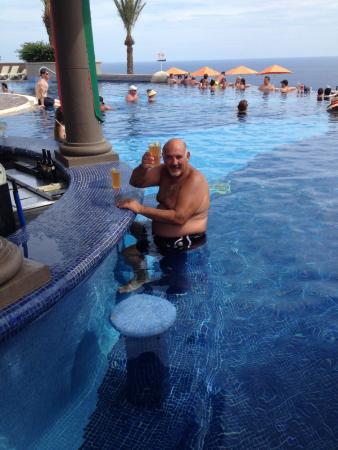 Pueblo Bonito Sunset Beach Golf & Spa Resort: piscina en el cielo
