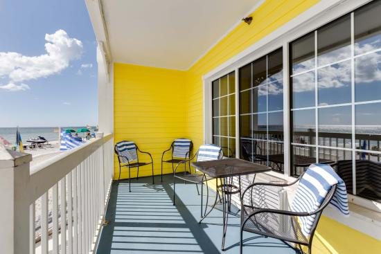 Pierview Hotel Suites Ground Floor Beachfront Suite Patio That Walks Out Onto Ft