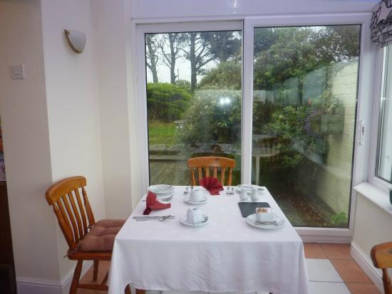 Roch, UK: Dining Room