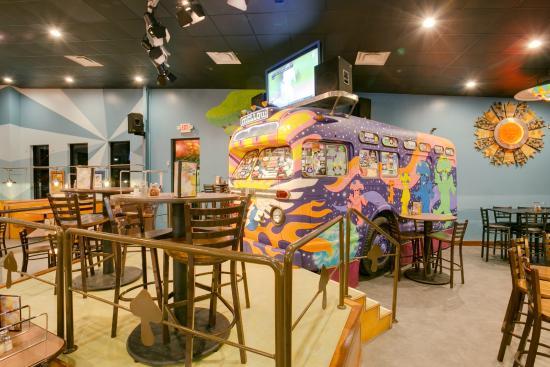 Murfreesboro's only indoor dining bus!