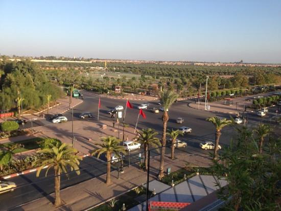 View From Top Picture Of Menara Mall Marrakech