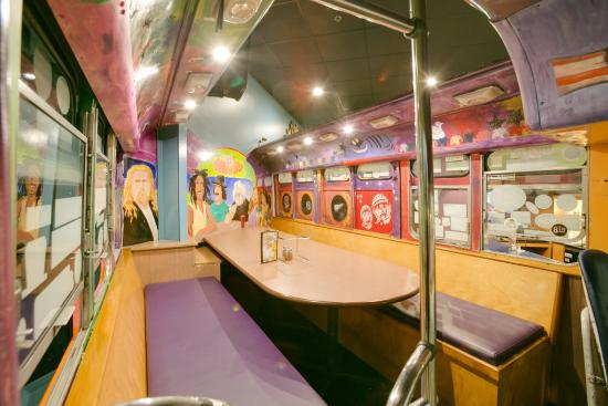 Murfreesboro, TN: Inside the Magic Bus!