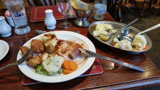 Station Hotel: My lunch