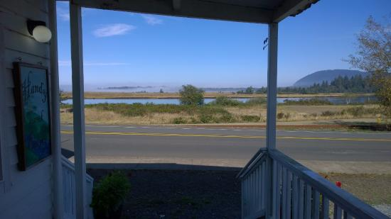 Wheeler, OR: View of the Nehalem river