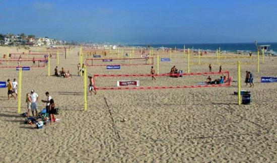 Boutique 444 : volley ball in Venice Beach