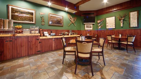 Ticonderoga, NY: Breakfast Area