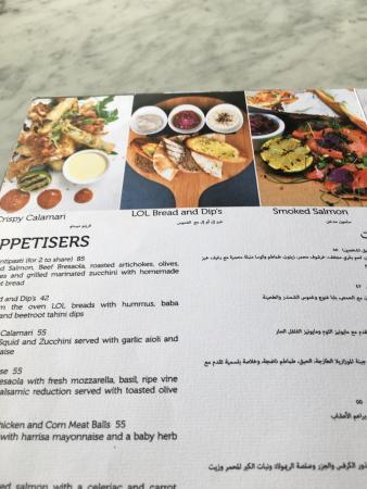 Appetisers - Menu