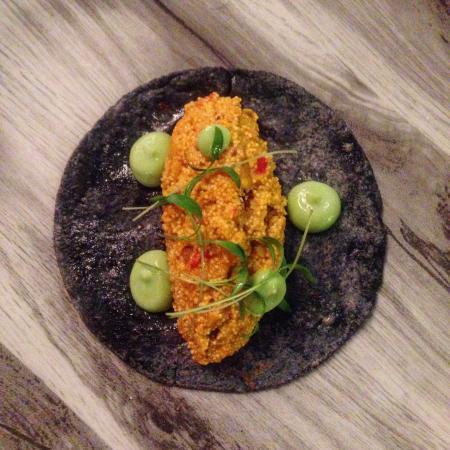 Tortilla de ma z azul huevas de carpa guisadas con for Carpa comida