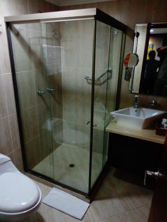 Hotel Alameda de la 10: Fabulous shower