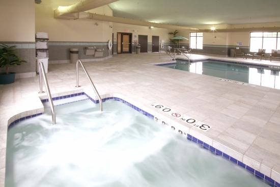 Verona, WI: Unwind after a long day by taking a dip in our hot tub