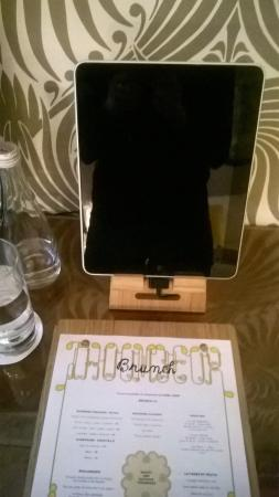 Hotel Thoumieux: iPad