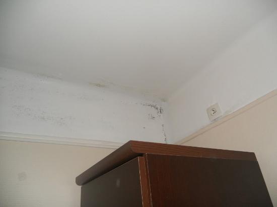 t ches de moisi au plafond foto di tamaris hotel parigi tripadvisor. Black Bedroom Furniture Sets. Home Design Ideas