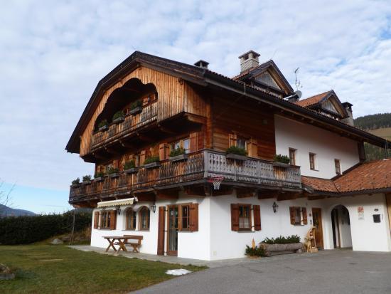 Rainerhof: la struttura