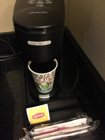 Holiday Inn Columbia East : Simple one cup coffee maker was great for me.