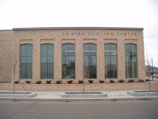 Chaska, MN: Front of Curling Center and Crooked Pint
