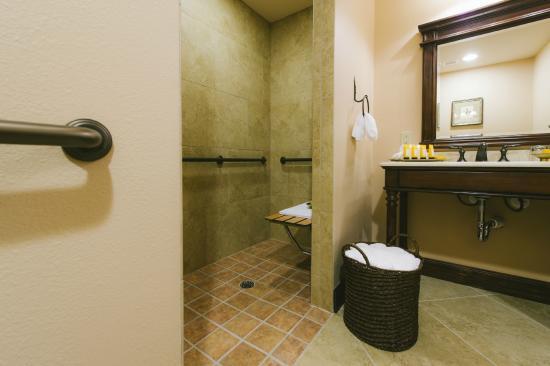 Deluxe Ada Bathroom Picture Of Hotel Granduca Austin Austin