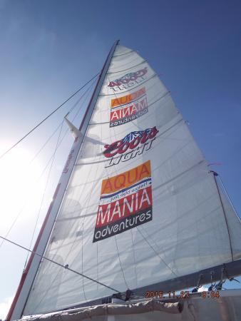 Simpson Bay, St. Maarten-St. Martin: The Lambada Sail