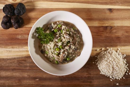 Blue Bar Grill: Mushroom Rissotto & Black Truffle Oil