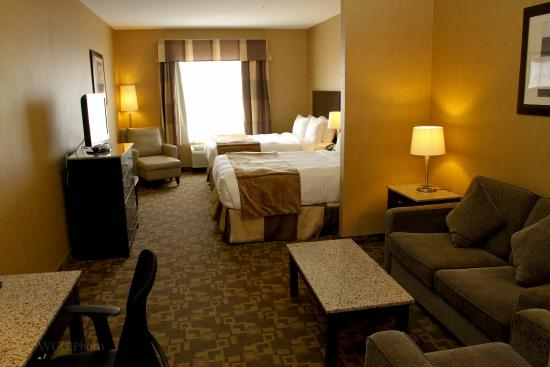 BEST WESTERN PLUS South Edmonton Inn & Suites: Business Two Queen Suite
