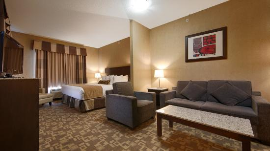 BEST WESTERN PLUS South Edmonton Inn & Suites: Guest Room