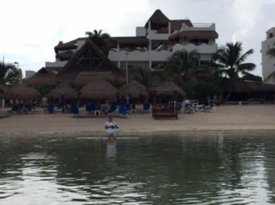 Vista Desde La Playa Picture Of Kalma 40 Canones Mahahual Tripadvisor