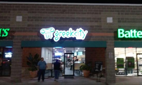 Brooksville, Flórida: Greek City Cafe