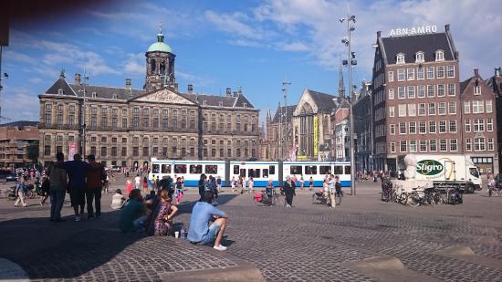Pra a dam foto di dam plaza amsterdam tripadvisor for Hotel vicino piazza dam amsterdam