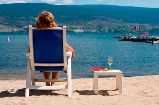 Summerland, Kanada: Resort Beachfront