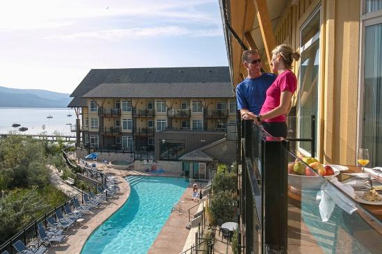 Summerland, Kanada: Lakeview Suite
