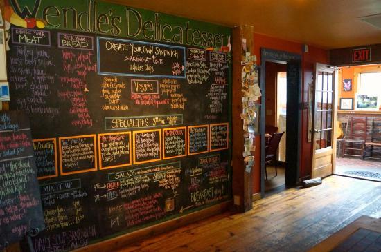 Wendle's Delicatessen & Cafe: Inside the fabulous Wendle's