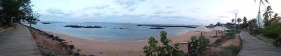 Hotel des Almadies : Playa