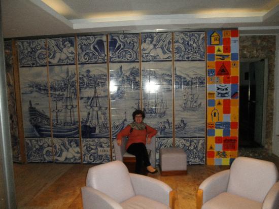 Hotel Lisboa Tejo: Hall de entrada