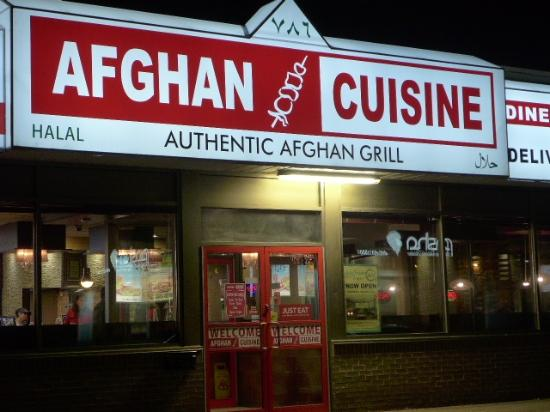 Looking in from outside picture of afghan cuisine for Afghan cuisine restaurant