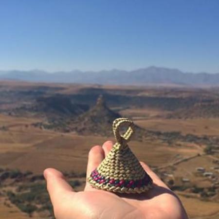 Maseru, Lesotho: Compare the Meerkats...or the Basotho Hats....!!!