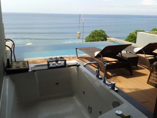 Private Pool And Jacuzzi Picture Of Anantara Uluwatu Bali Resort