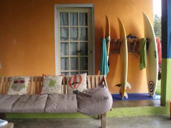 Playa Venao, Panama : Surf lounge
