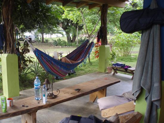 Playa Venao, Panama : home sweet hammock