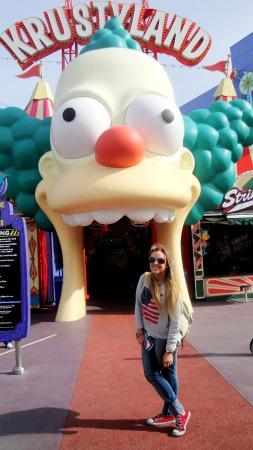 Juego De Los Simpsons Fotografia De Universal Studios Hollywood