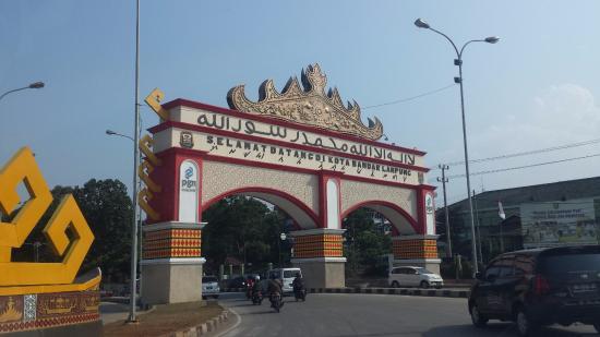 Gapura Bandar Lampung