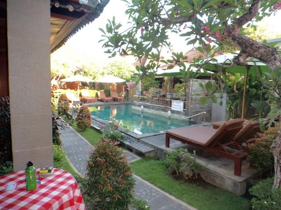Kesumasari Guest House: pretty balinese courtyard and pool