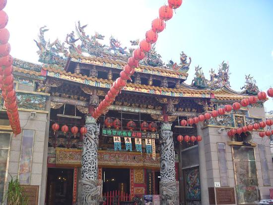 Temple to the Three Mountain Lords in Jiouru