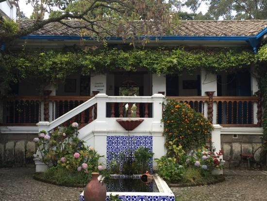 Hacienda Cusin: Lovely place for excellent lunch