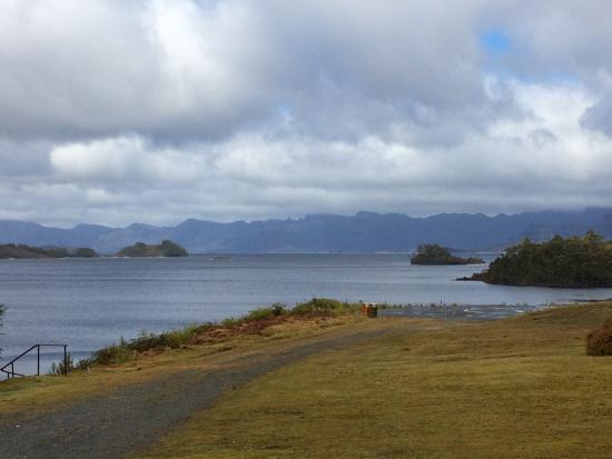 Strathgordon, Australië: great view to wake up with