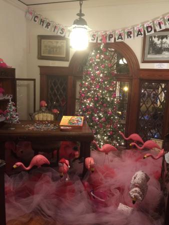 Burroughs Home & Gardens: Flamingo Room