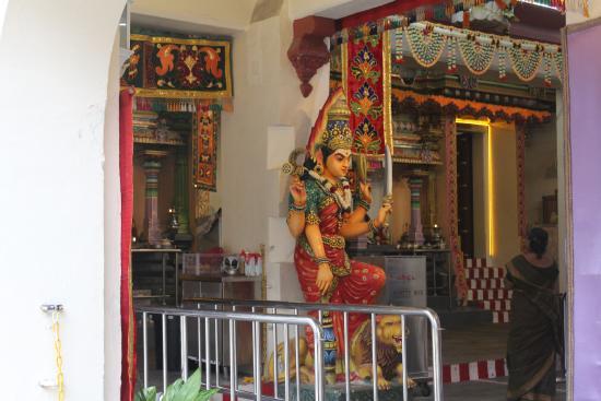 One of the Hindu gods. - Foto di Sri Mariamman Temple ...
