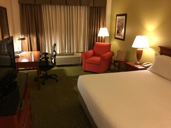 Room 203 Picture Of Hilton Garden Inn Ontario Rancho Cucamonga