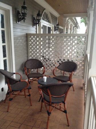 The Plantation Inn: Nice patio