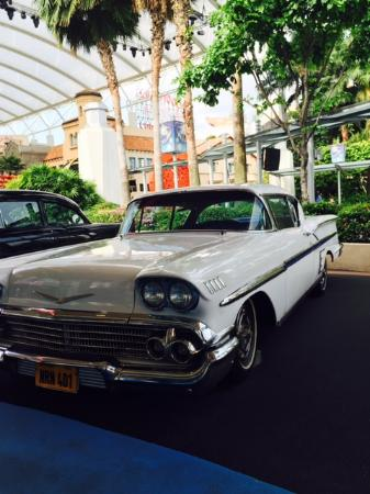 Vintage Car Picture Of Universal Studios Singapore Sentosa
