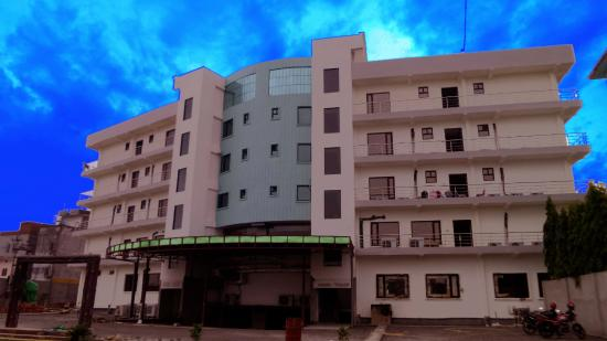 Nepalgunj, Nepal: Hotel view from Rear