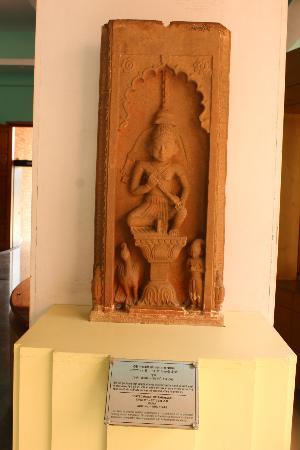 Chanderi, Hindistan: famous statue of museum